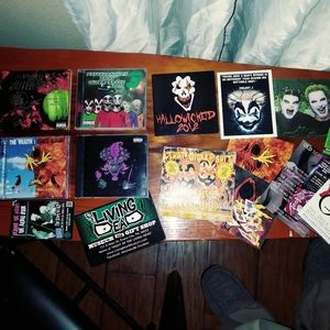 ICP cds stickers and cards resale lot deal